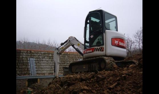 Location matériel terrassement - Farjot Constructions