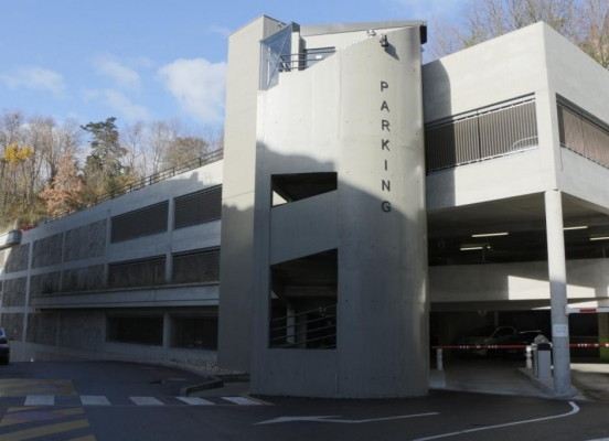 Farjot Constructions - Parking clinique Val Ouest